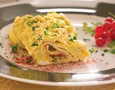 Eggs Cordon Bleu with Tupperware® Microwave Breakfast Maker