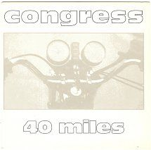 45cat - Congress [90s] - 40 Miles (Vocal Version) / 40 Miles - Inner Rhythm - UK - 7 HEART 01