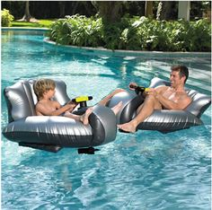 Pool Bumper Cars | 32 Outrageously Fun Things You'll Want In Your Backyard This Summer