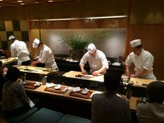 THE BEST SUSHI BAR EVER (AKA KYUBEY) - Kyubey Main Restaurant, Chuo Traveller Reviews - TripAdvisor
