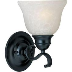 Design House Millbridge 1 Light Oil Rubbed Bronze Wall Sconce 514554