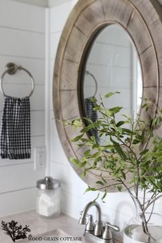 Fall Home Tour: Part One - The Wood Grain Cottage