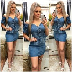Swans Style is the top online fashion store for women. Shop sexy club dresses, jeans, shoes, bodysuits, skirts and more. Sexy Outfits, Sexy Dresses, Short Dresses, Cute Outfits, Fashion Outfits, Denim Fashion, Girl Fashion, Womens Fashion, Dresses With Cowboy Boots