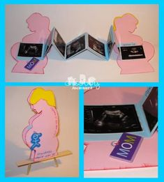 Album a fisarmonica - Silhouette gravidanza