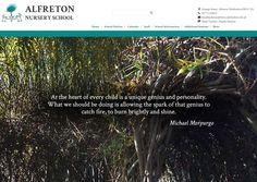 Alfreton Nursery School Web Design - School Jotter