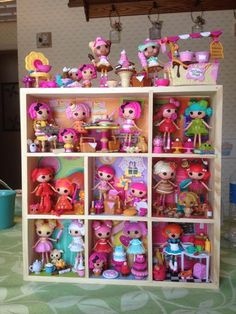 Jeanne's Handmade Lalaloopsy Dollhouse