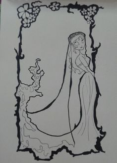 Corpse Bride by Ayesha Ahmed.