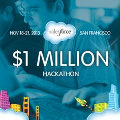 #Dreamforce $1M Prize HACKATHON http://events.developerforce.com/en/dreamforce/hackathon/register