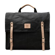 WILL Leather Goods Wax Coated Messenger