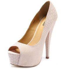 charlotte russe matte snakeskin heels - Google Search