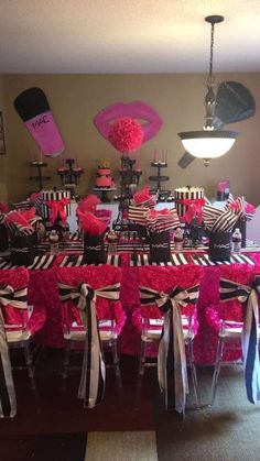 New Birthday Ideas For Teens Girls Nail Polish 65 Ideas Birthday Cakes Girls Kids, 14th Birthday Party Ideas, Sleepover Birthday Parties, Barbie Birthday Party, Pink Birthday, Birthday Party Decorations, Makeup Birthday Parties, Victoria Secret Party, Girl Spa Party