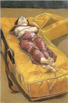 Paula Rego , Possesion III, pastel on paper mounted on aluminium, Paula Rego Art, Figure Painting, Painting & Drawing, Figurative Kunst, Female Painters, Feminist Art, Fine Art, Gothic, Art Sketchbook