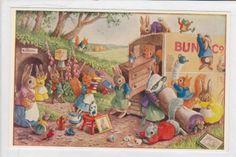 Racey Helps Medici postcard | eBay