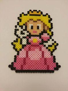 Mario & Princess Peach Bead Sprites Super par DCBPerlerSprites