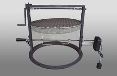 We've combined the uniqueness of our 22 in Santa Maria style attachment with a fabulous Rotisserie kit