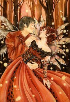 Fairy Art by Janna Prosvirina Enchanted Dance Fantasy Couples, Art Costume, Fairy Art, Community Art, Large Art, Enchanted, Fantasy Art, Fairy Tales, Deviantart