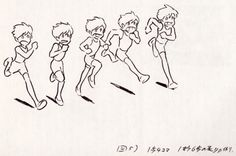 """""""How to Animate Running"""" by 宮崎 駿 Hayao Miyazaki* 