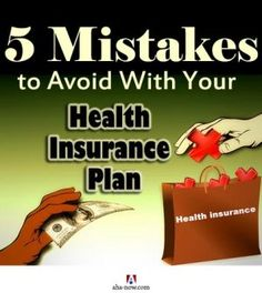Do you have a health insurance cover? I'm sure you have one, but did you buy it after making sure that it meets all your requirements and emergency needs? This post tells you all the important things that you need to look for in a health insurance plan by highlighting the common mistakes that people make while buying it. Read it to educate, inform, and safeguard yourself. More at the blog. :)