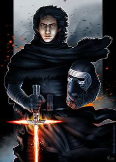 Kylo Ren: I'm Immune to the Light by Rinter on DeviantArt