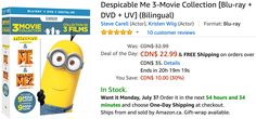 Amazon Canada Deals Of The Day: Save 54% on Keeping Up Appearances: Collectors Edition & 30% on Despicable Me 3... http://www.lavahotdeals.com/ca/cheap/amazon-canada-deals-day-save-54-keeping-appearances/218195?utm_source=pinterest&utm_medium=rss&utm_campaign=at_lavahotdeals