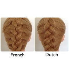 Because there is a difference. I personally prefer the dutch because my hair is so thin, it makes the braid more visible.