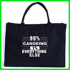 99 Percent Canoeing 1 Percent Everything Else - Tote Bag - Totes (*Amazon Partner-Link)