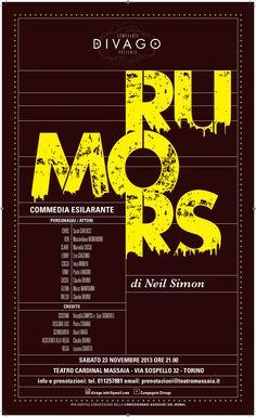 Rumors - Stagione teatrale 2013/ 2014