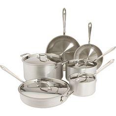 All-Clad 10 Piece Cookware Set