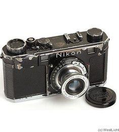 Nikon: Nikon I (black) camera #vintagecameras