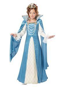 Renaissance Queen Child Costume - 326894   trendyhalloween.com #halloweencostumes #childrenscostumes #girlscostumes #renaissance