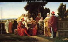 The Music Party - Elihu Vedder - www.elihuvedder.org