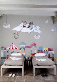 Great Wandmalerei Im Kinderzimmer   Ein Entzückendes Ambiente Erschaffen