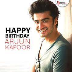 #HappyBirthdayArjunKapoor @arjunk26; the Handsome hunk & the new age angry young man.