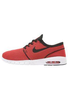 Nike SB STEFAN JANOSKI MAX - Zapatillas - black/orange - Zalando.es