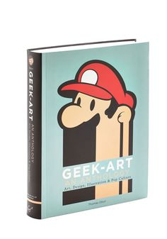 Geek-Art: An Anthology | Celebrate your love of Mario, Pikachu, Darth Vader, Frodo, and many more iconic figures with this unique anthology from Chronicle Books. Authored by Thomas Olivri - the creator of Geek-Art.net - this paperback features over 750 colorful images from nearly 100 illustrators, graphic designers, photographers, and artists whose creative brilliance will delight and inspire!