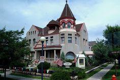 Nagle Warren Mansion, Cheyenne, Wyoming (WY) by bobindrums, via Flickr