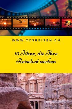 Unsere Auswahl von 10 Filmen, die Sie von Ihrer Couch aus auf eine Reise mitnehmen. #tcsreisen #filmen #reise #reisen 10 Film, Destinations, Blog Voyage, Desktop Screenshot, Couch, Film, Travel, World, Travel Advice