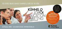 opinión-debate: IX Salón de Empleo de Kühnel en Zaragoza