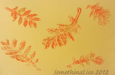 Something About Nothing: Gelli Plate Tutorial with Leaves