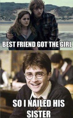 125 of the Best Harry Potter Memes - Harry Potter Mems, Images Harry Potter, Mundo Harry Potter, Harry Potter Cast, Harry Potter Fandom, Harry Potter World, Harry Potter Hogwarts, Funny Harry Potter Pictures, Harry Potter Funny Quotes