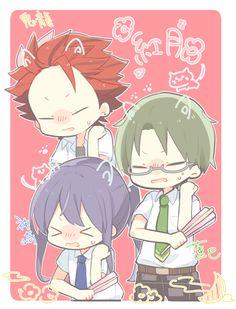 Comedy Anime, Rainbow Light, Shining Star, Ensemble Stars, Akatsuki, Chibi, Kawaii, Fan Art, Manga