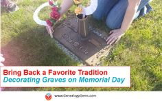 """""""Reviving a Memorial Day Tradition for Family History."""" It's hard to find fun ways to share family history with the kids. This idea worked! #paperflowers #kids #familyhistory #traditions"""