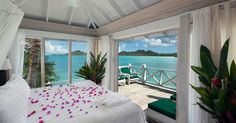 Most romantic of Antigua hotels and resorts-relaxing antigua vacations at Cocobay.