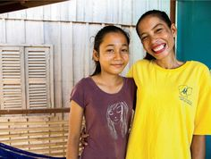 """""""Having a house gives me comfort, #safety, #strength, #hope and the #courage to keep on working and doing everything, without hesitation. It provides confidence for my children, hope for my whole family and strength for my soul."""" – Sann, #HabitatforHumanity #Cambodia homeowner"""