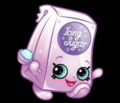 Shopkins iris icing sugar