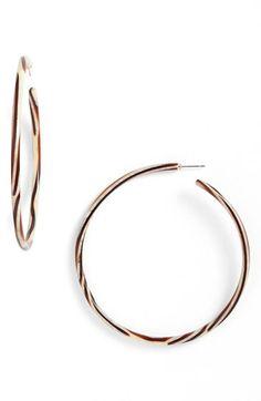 L. Erickson L Erickson 'Jumbo' Hoop Earrings available at #Nordstrom Tokyo or Tortoise!