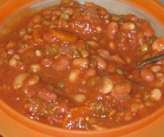 Tempting Tuesday's Recipe:  Vegan Slow Cooker 15 Bean Soup