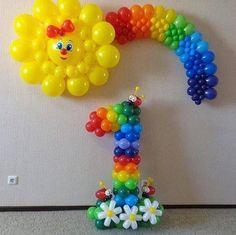Olha o que você pode fazer com balões você vai adorar essas idéias!