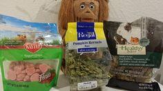 Hamster snacks  Yogurt Drops (Petco or Petsmart) Pumpkin Seeds - raw (Marshalls) Millet Snips (Petsmart) Sunflower Seeds - no salt but roasted (99 Ranch store for under $4)