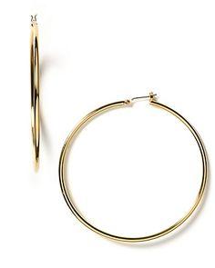 Lauren Ralph Lauren Gold Hoop Earrings | Bloomingdale's